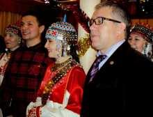 Слева направо: ..., Владимир Алмантай, ..., Юрий Исаев