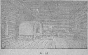 еконструкция дома горожанина, по материалу раскопок Сувара. Н. О. Фреймана, стр. 50.