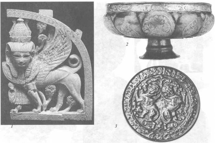 Изображения богини палящего зноя и войны Сожмет (Сехмет) на археологических находках