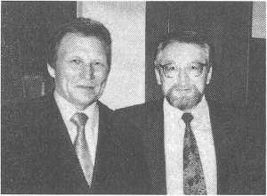 С академиком РАЕН В. В. Николаевым. 2006 г.