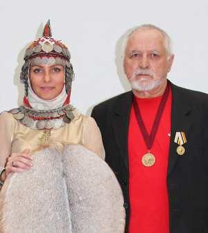 На фото Русалина Селентай и Фёдор Мадуров