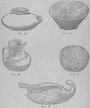 Кувшин, Миска, Крынка, Глиняное наверетье, Лампа, коллекция ГИМ, стр. 45.