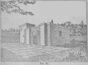 Богатый дом, развалины открыты в Суваре (реконструкция Н. О. Фреймана), стр. 51.
