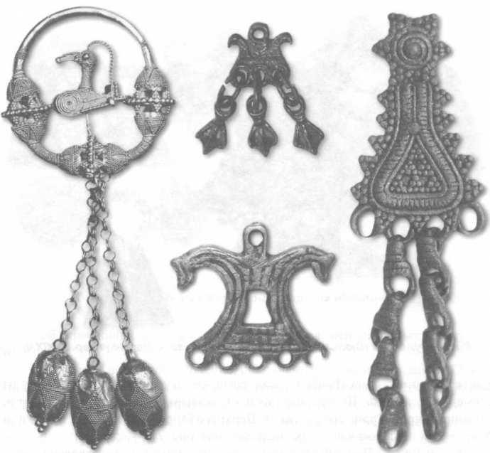 Космогонические представления трехуровнего мира на изделиях суваро-булгар. X—XIII вв.